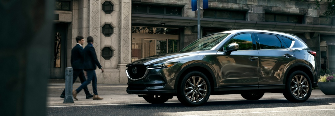 2019 Mazda CX-9 Signature gray side view
