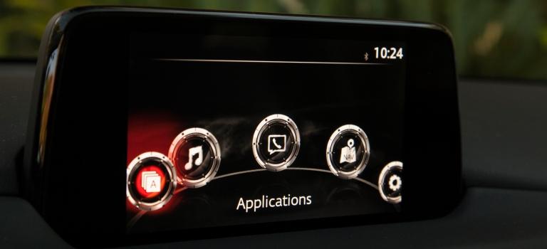 2019 Mazda CX-5 infotainment screen