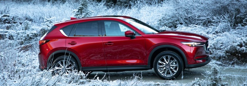 Kia Forte Hatchback >> 2019-Mazda-CX-5-red-side-view-in-frost_o - Holiday Mazda