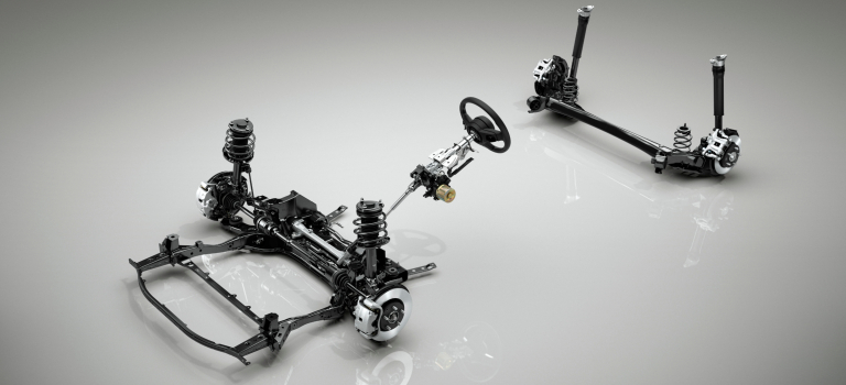 2019 Mazda3 suspension