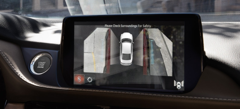 2019 Mazda6 360-degree view monitor