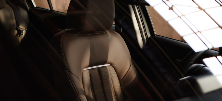 2019 Mazda6 Nappa leather seats in brown