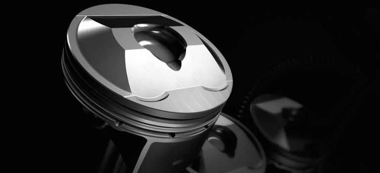 2019 Mazda6 piston close up shot