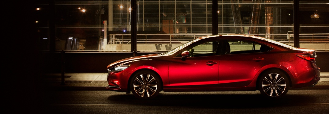 What are the safety test results of Mazda6 vehicles?