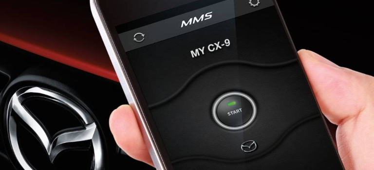 2019 Mazda CX-9 mobile start phone