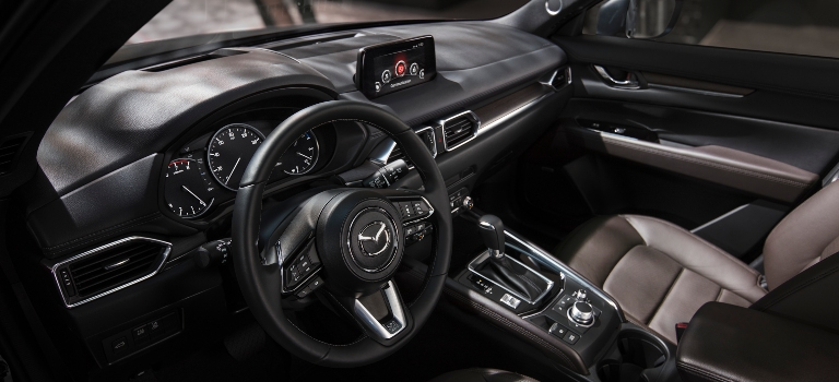 2020 Mazda CX-5 interior leather