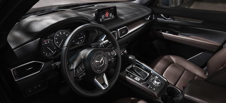 2020 Mazda CX-5 Signature interior with Nappa leather