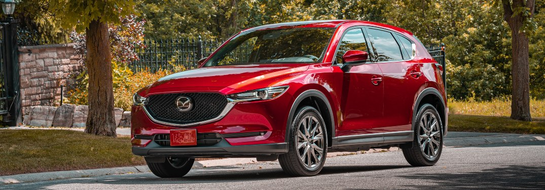 Top luxury features of the 2020 Mazda CX-5