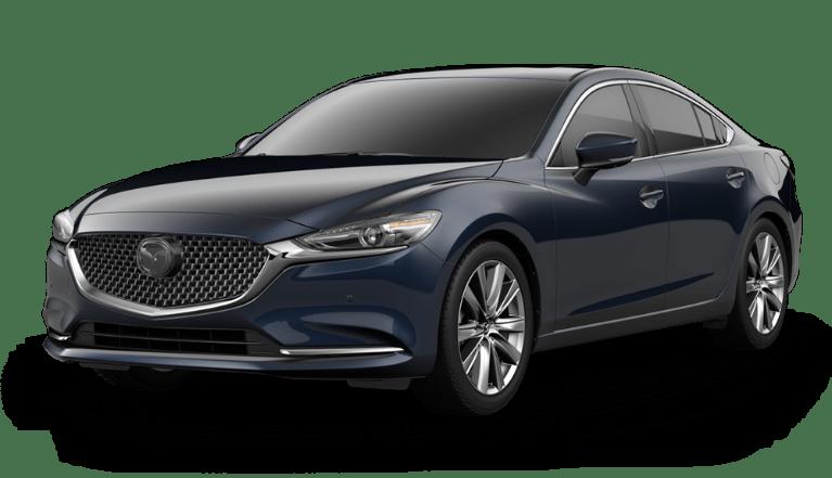 2020 Mazda6 Deep Crystal Blue Mica side view