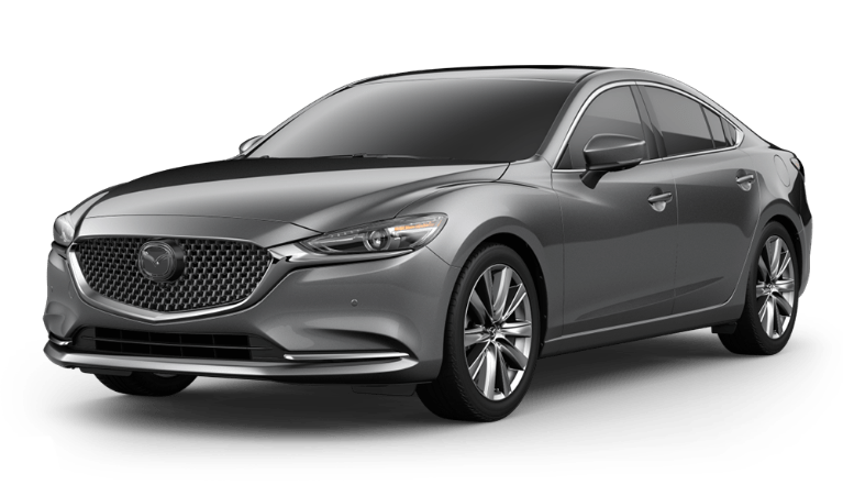 2020 Mazda6 Machine Gray Metallic side view