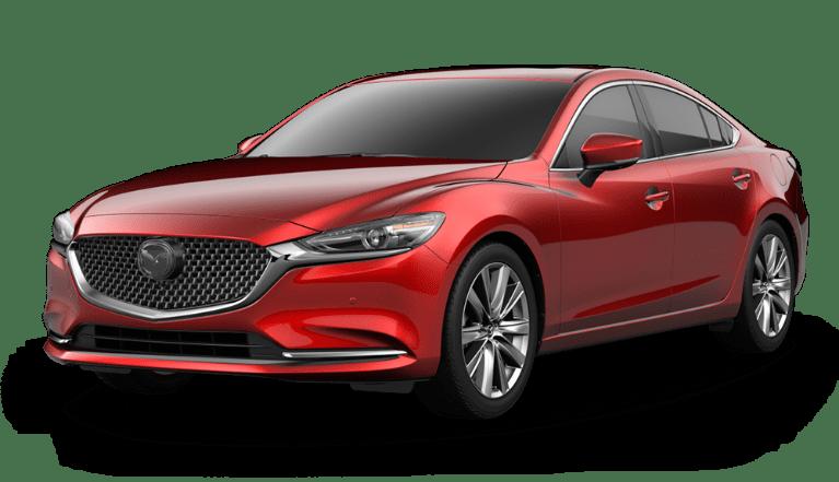 2020 Mazda6 Soul Red Metallic side view