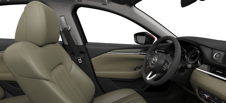2020 Mazda6 tan leather interior