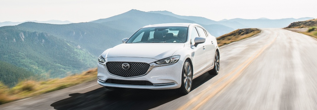 What colors is the 2019 Mazda6 available in?
