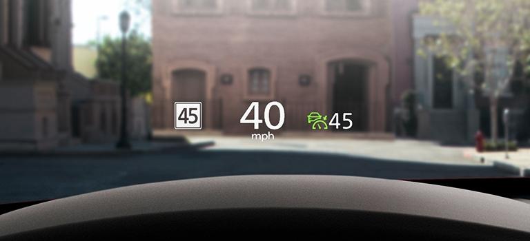2020 Mazda CX-30 Active Driving Display