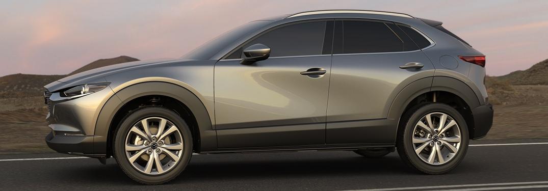 2020 Mazda CX-30 silver side view