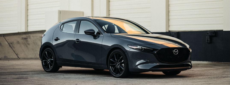 Grey 2020 Mazda3 Hatchback