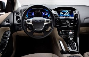 Interior of the best Ford SUV in Cincinnati Mike Castrucci Ford