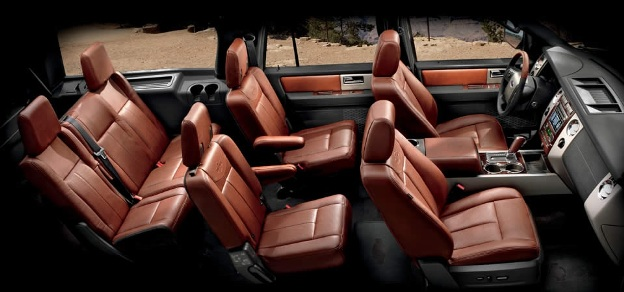 Interior Seating Of Ford Suv