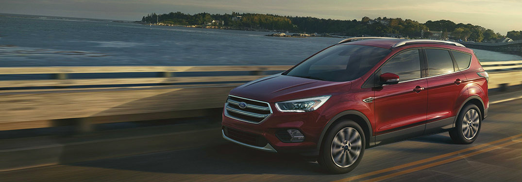 2017 Ford Escape trim level comparison