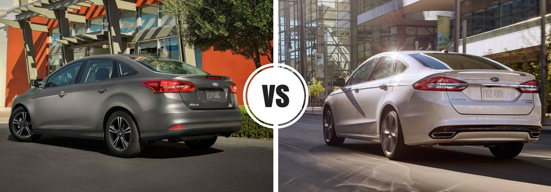Is the Ford Focus more fuel-efficient than the Ford Fusion?