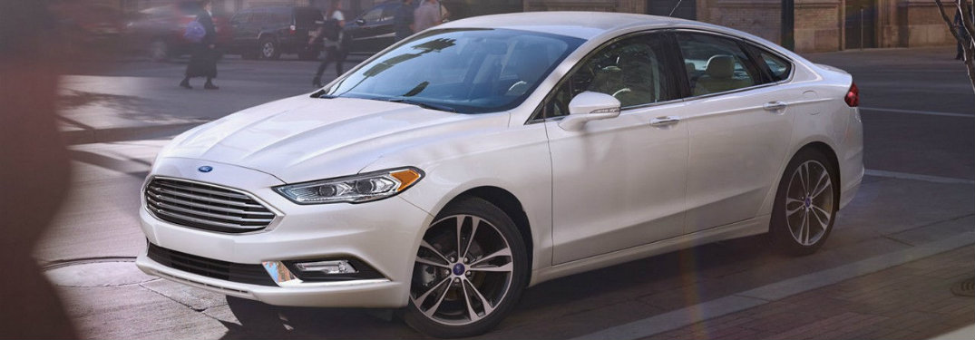 2017 Ford Fusion standard features
