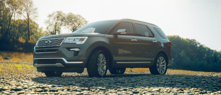 Ford Explorer Towing Capacity >> 2018 Ford Explorer color options