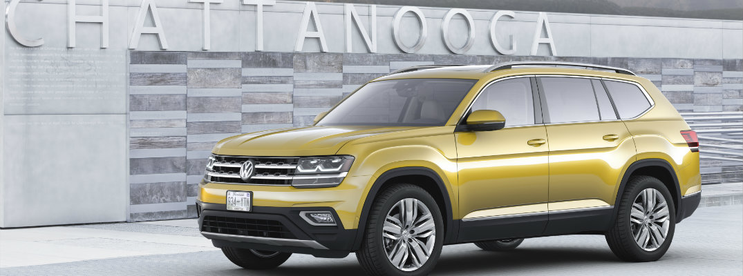 Check Out the Upcoming 2018 Volkswagen Atlas!
