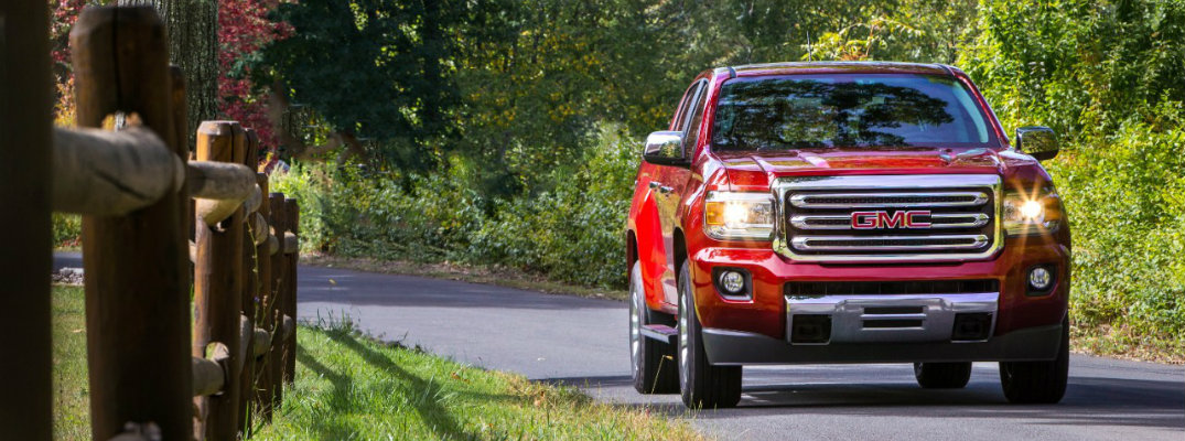 2016 GMC Canyon Seating Capacity
