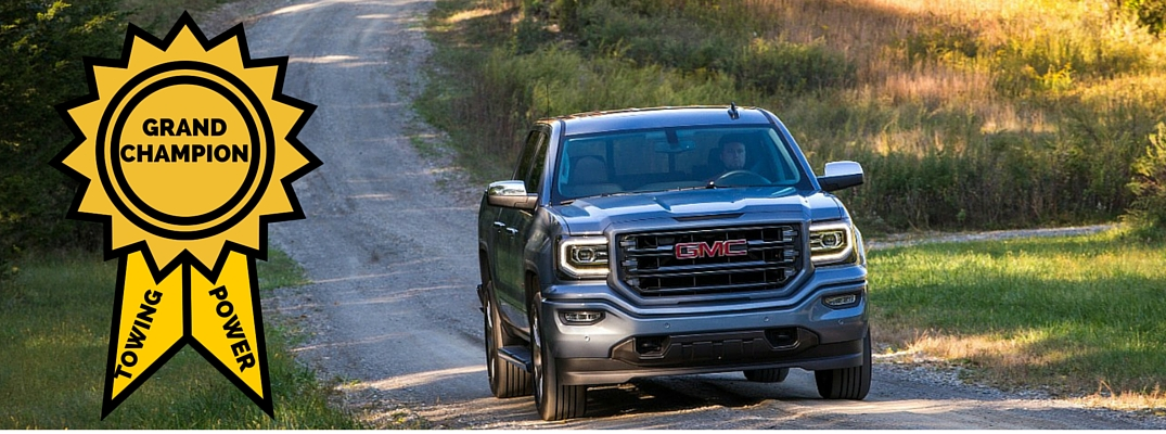 2016 GMC Sierra 1500 Towing Capacity