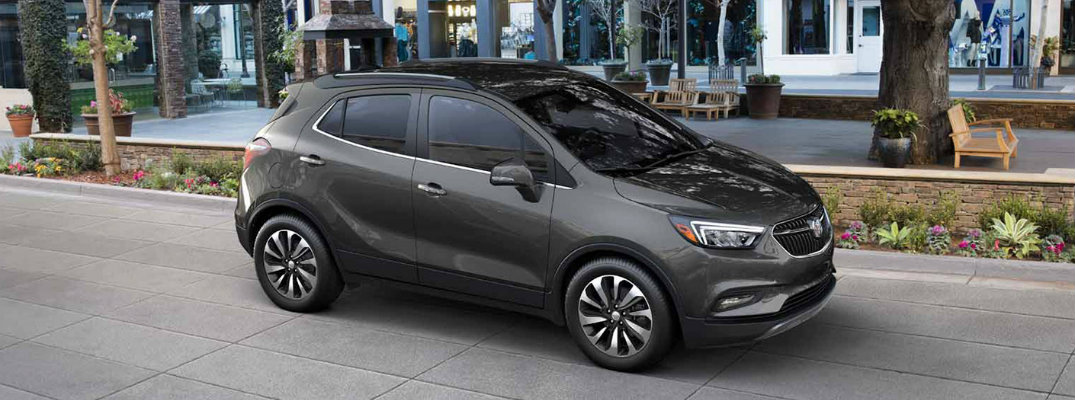 How Much Can Fit inside the 2017 Buick Encore?