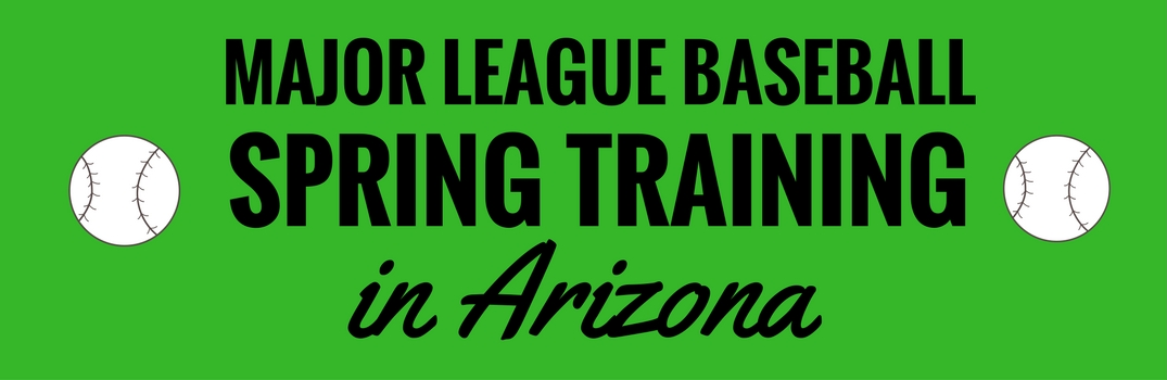 Major League Baseball Spring Training In Arizona