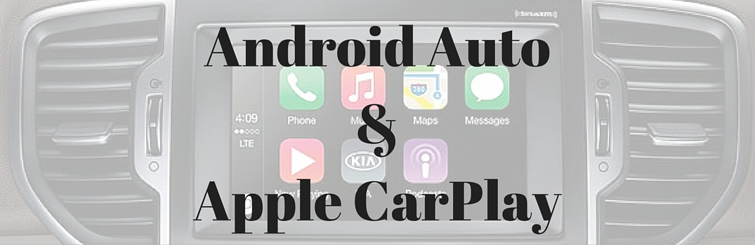 android auto apple carplay 2017 kia sportage