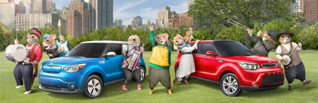 2016 kia soul hamsters commercial