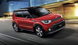 turbocharged kia soul sx red exterior