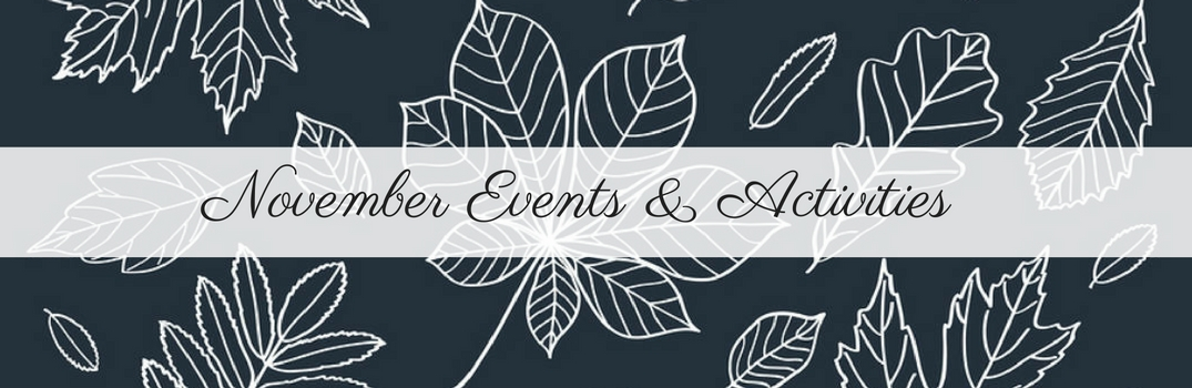november events and activities
