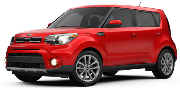 2017 Kia Soul Inferno Red Exterior