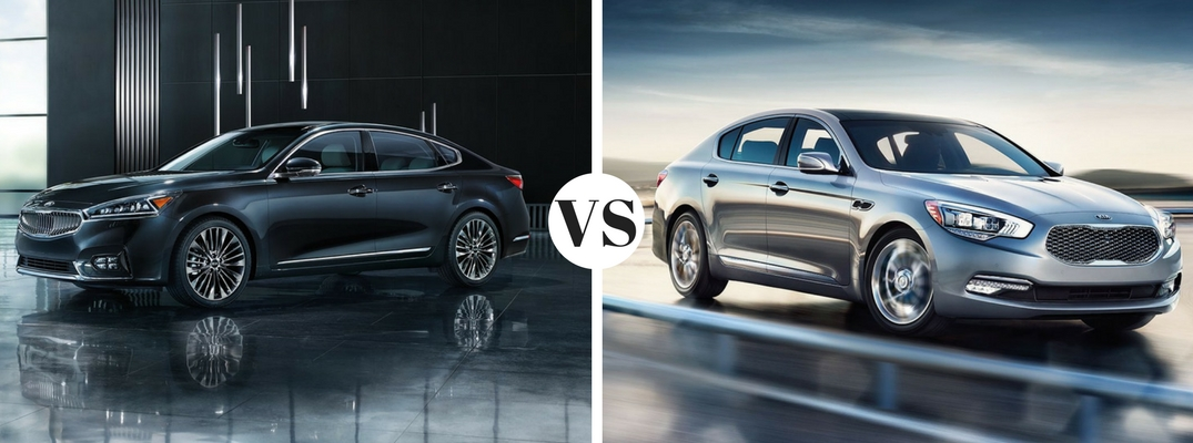 Differences between the Kia Cadenza and Kia K900