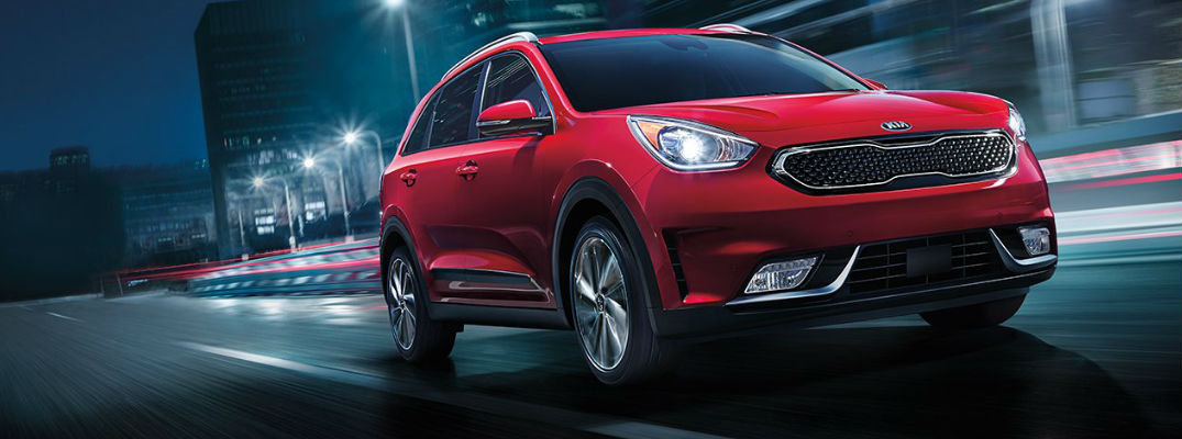 2017 Kia Niro in Red