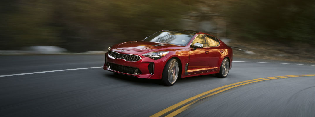 2018 Kia Stinger in Red
