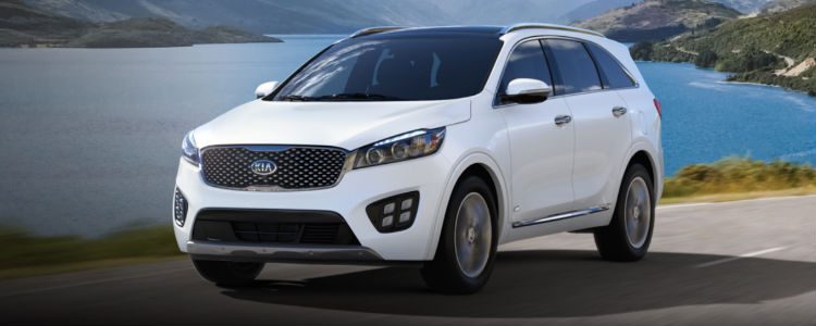 2018 Sorento in Snow White Pearl