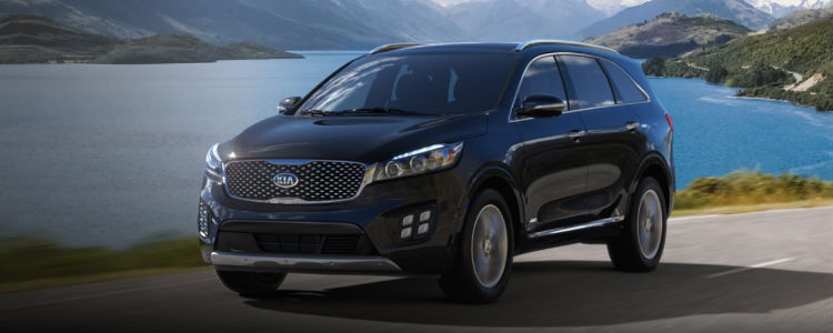 2018 Sorento in Ebony Black