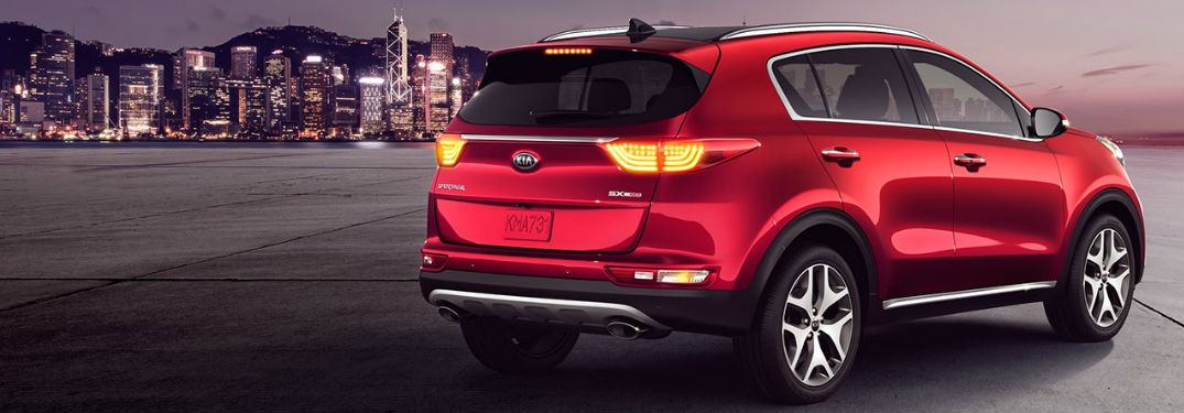 2018 Sportage in Red