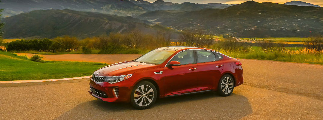 2018 Kia Optima Red Exterior