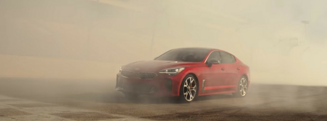 2018 Kia Stinger GT in Super Bowl Commercial