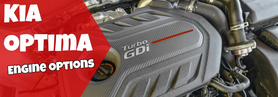 2018 Kia Optima Turbo engine