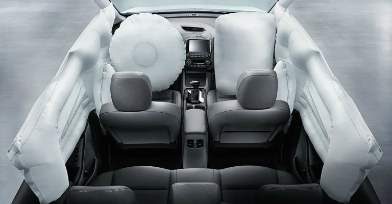 2018 Kia Forte air bag system