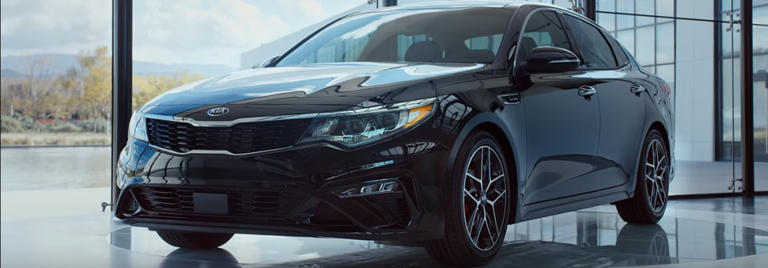 black 2019 Kia Optima front side view