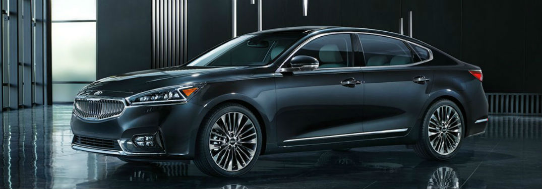 2018 Kia Cadenza exterior front fascia and drivers side