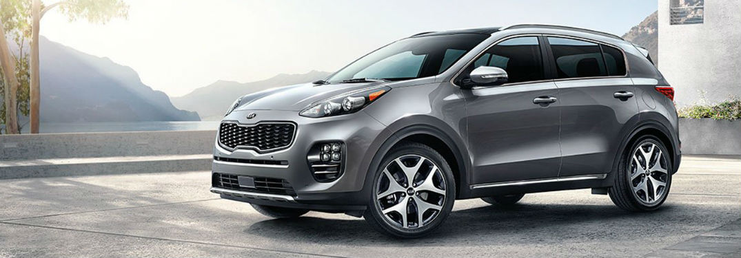 What are the 2018 Kia Sportage color options?