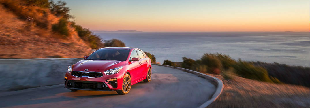 What safety technologies does the 2019 Kia Forte have?